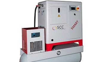 SCC Schraubenkompressor Smart 5 TD und 7 TD