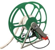 Schlauchaufroller, elektrisch angetrieben