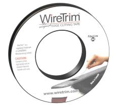Das WireTrim Produktportfolio von Klebebändern mit integriertem Draht oder Nylonfaden hat die Qualität die härtesten Beschichtungen zu schneiden.